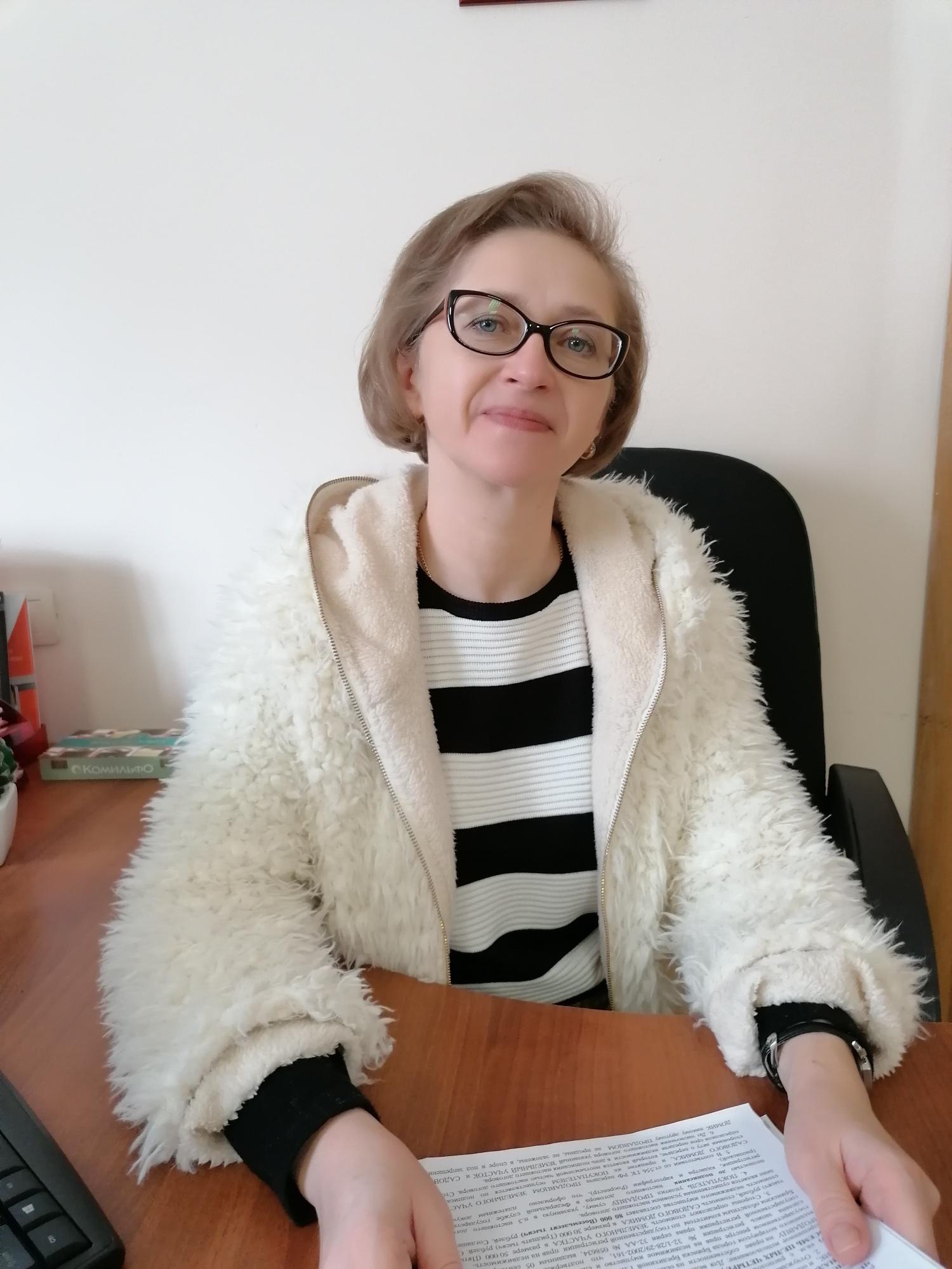 Манжос Марина Михайловна